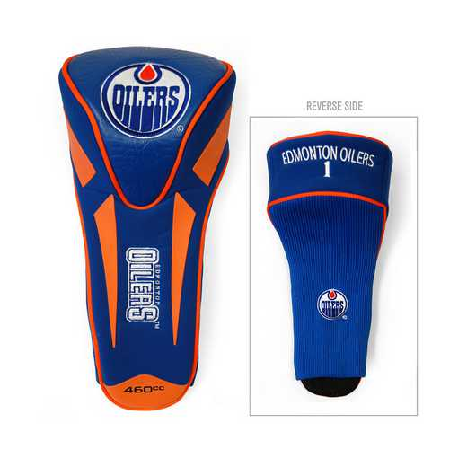 14068: Single Apex Driver Head Cover Edmonton Oilers