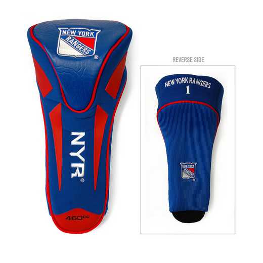 14868: Single Apex Driver Head Cover New York Rangers