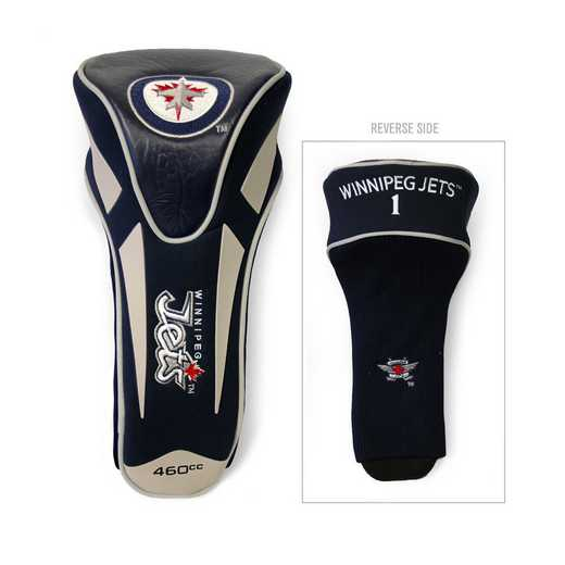 15968: Single Apex Driver Head Cover Winnipeg Jets