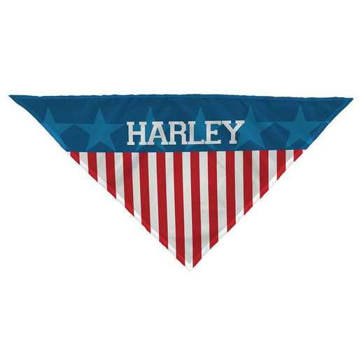 U1025652: FLAG DOG BANDANA