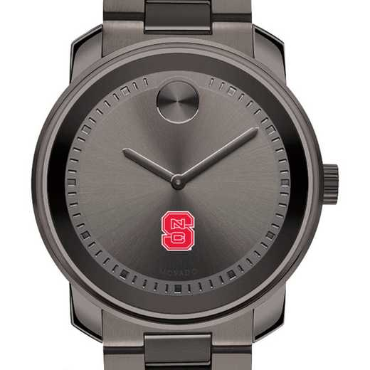 615789645511: North Carolina State Men's Movado BOLD gnmtl gry