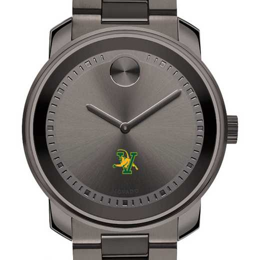 615789429623: Univ of Vermont Men's Movado BOLD gnmtl gry