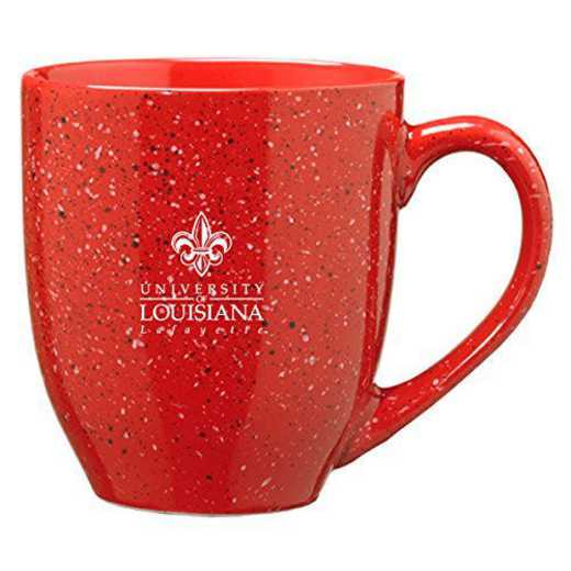 CER1-RED-LALFYTE-L1-CLC: LXG L1 MUG RED, Louisiana Lafayette