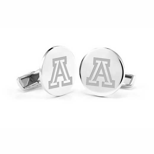615789678793: University of Arizona Cufflinks in Sterling Silver
