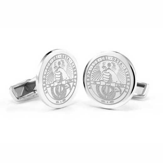 615789540557: Davidson College Cufflinks in Sterling Silver