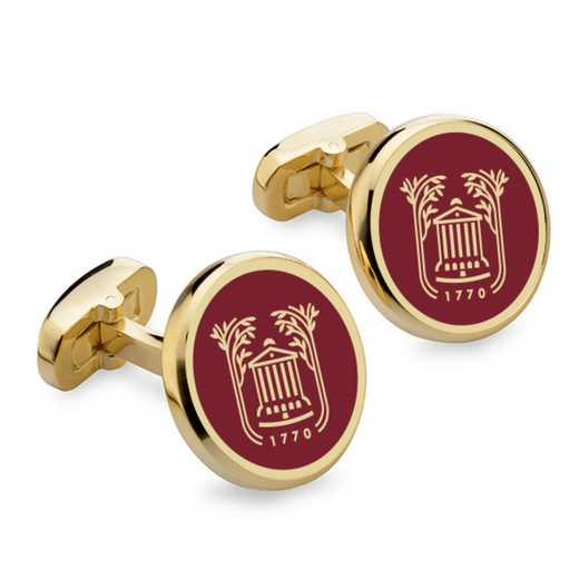 615789381945: College of Charleston Enamel Cufflinks by M.LaHart & Co.