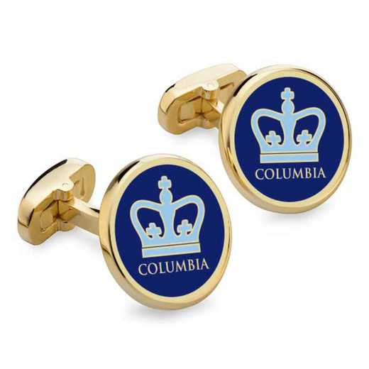 615789192497: Columbia Enamel Cufflinks by M.LaHart & Co.