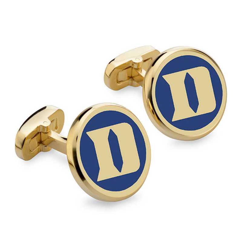615789908944: Duke Enamel Cufflinks by M.LaHart & Co.