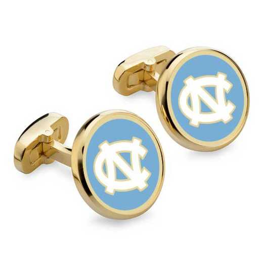 615789626282: North Carolina Enamel Cufflinks by M.LaHart & Co.