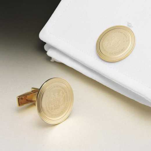 615789207368: MIT 14K Gld Cufflinks by M.LaHart & Co.