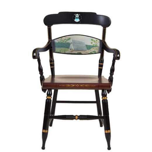 615789295693: Hand-painted US Air Force Academy Campus Chair by Hitchcock