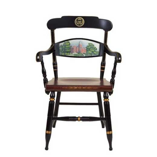 615789269717: Hand-painted Georgia Tech Campus Chair by Hitchcock