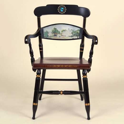 615789355595: Hand-painted UNC Campus Chair by Hitchcock