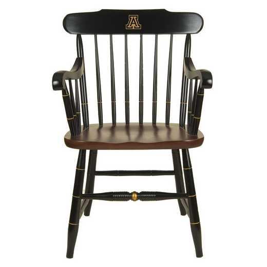 615789627708: University of Arizona Captain's Chair by Hitchcock