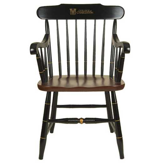 615789540410: College of Charleston Captain's Chair by Hitchcock