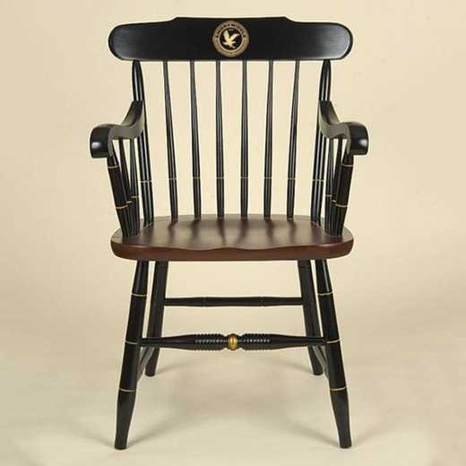 615789454984: Embry-Riddle Captain's Chair by Hitchcock