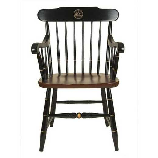 615789903512: New York University Captain's Chair by Hitchcock