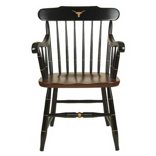 615789614104: University of Texas Captain's Chair by Hitchcock