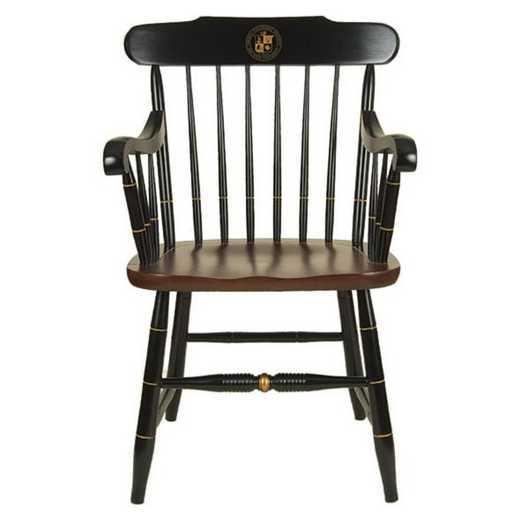 615789815679: Virginia Tech Captain's Chair by Hitchcock