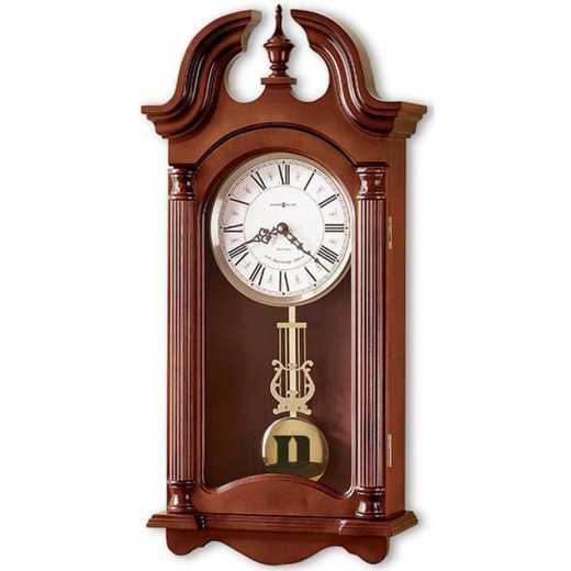 615789044857: Duke Howard Miller Wall Clock