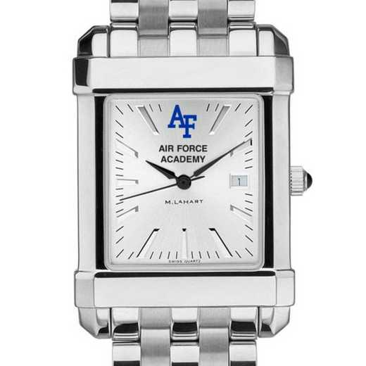 615789899457: Air Force Academy Men's Collegiate Watch w/ Bracelet