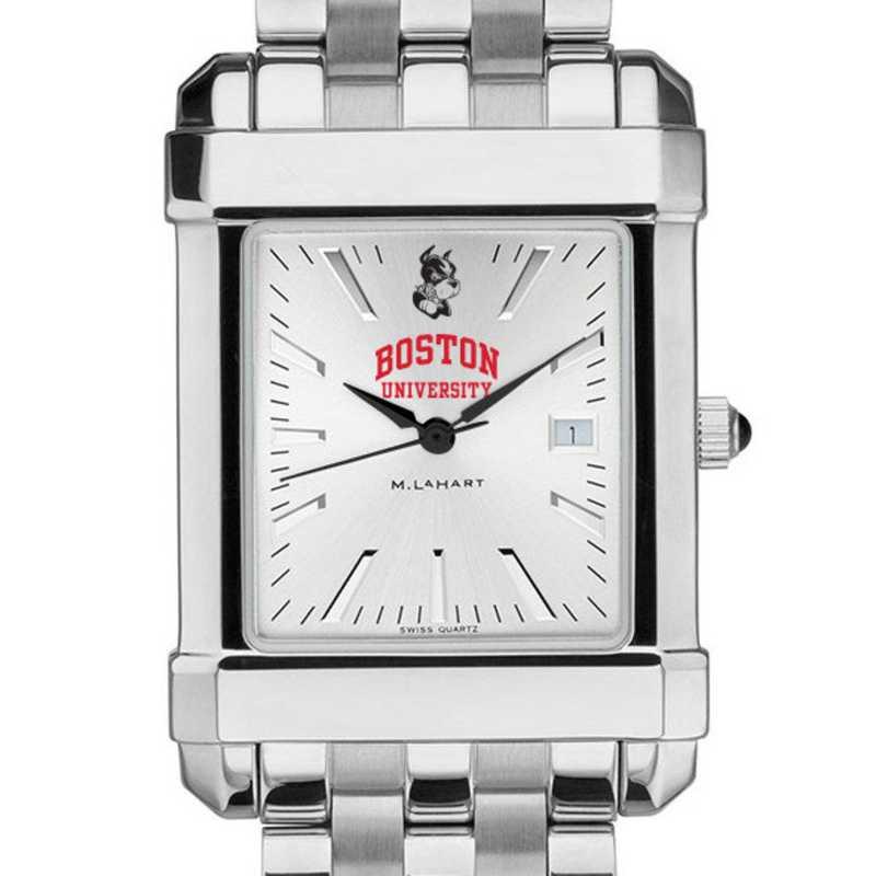 615789878131: Boston University Men's Collegiate Watch w/ Bracelet