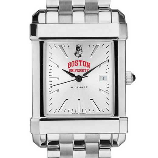 615789878131: Boston University Men's Collegiate Watch w/ Bracelet