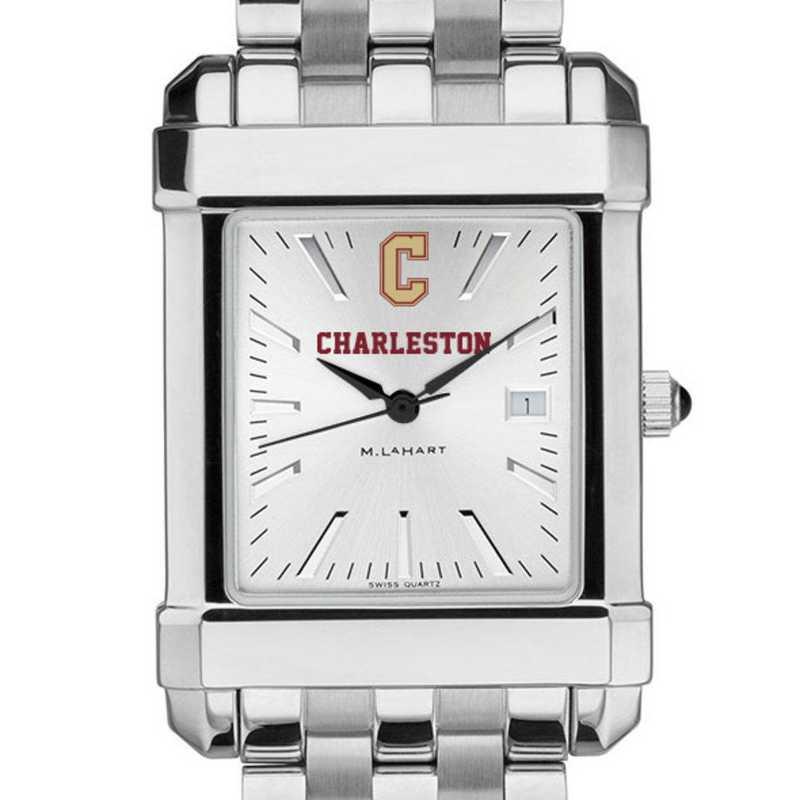 615789139683: College of Charleston Men's Collegiate Watch w/ Bracelet