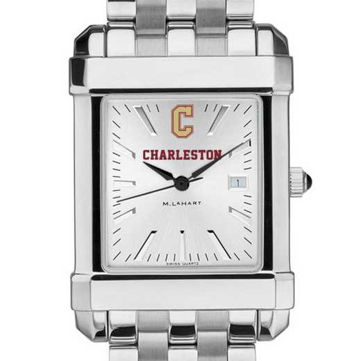 615789139683: College of Charleston Men's Collegiate Watch w/ Bracelet