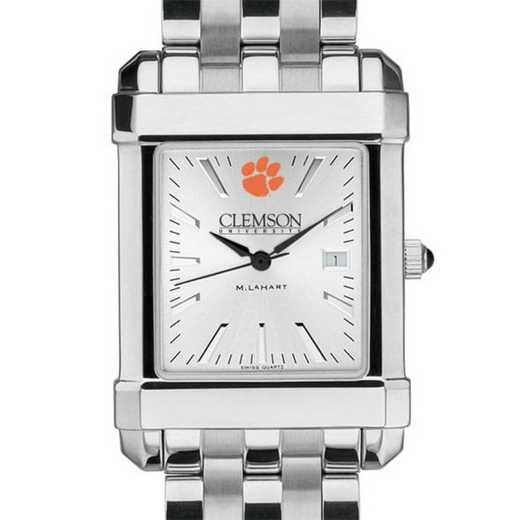 615789207252: Clemson Men's Collegiate Watch w/ Bracelet