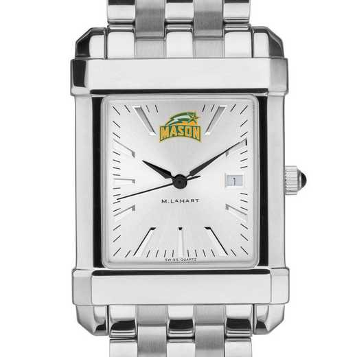 615789906629: George Mason University Men's Collegiate Watch w/ Bracelet