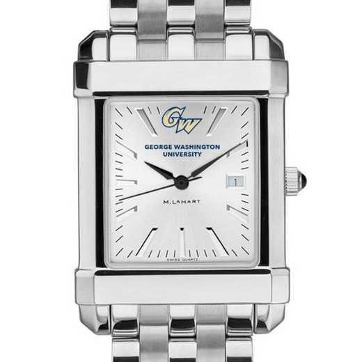 615789348702: George Washington Men's Collegiate Watch w/ Bracelet