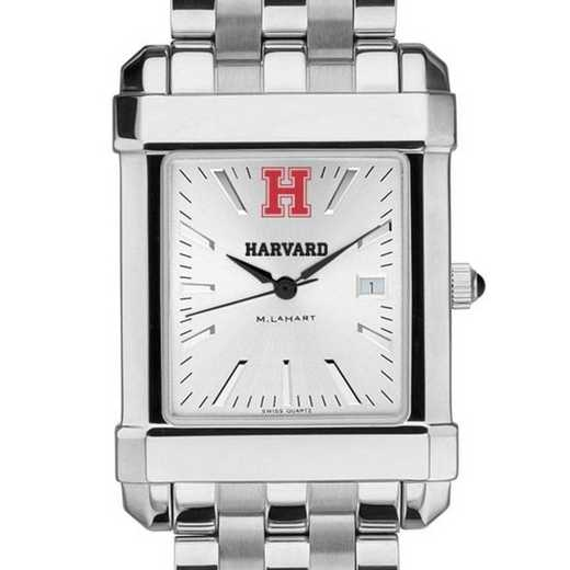 615789696506: Harvard Men's Collegiate Watch w/ Bracelet