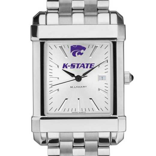 615789376835: Kansas State University Men's Collegiate Watch w/ Bracelet