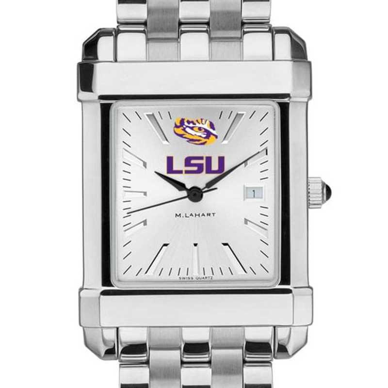 615789515623: LSU Men's Collegiate Watch w/ Bracelet