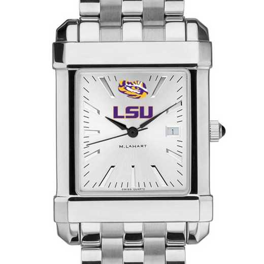 615789515623: LSU Men's Collegiate Watch w/ Bracelet