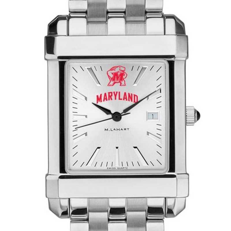 615789247692: Maryland Men's Collegiate Watch w/ Bracelet