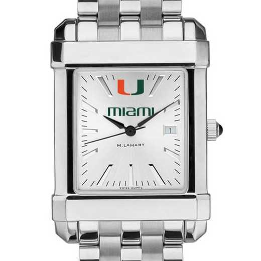 615789544715: Miami Men's Collegiate Watch w/ Bracelet