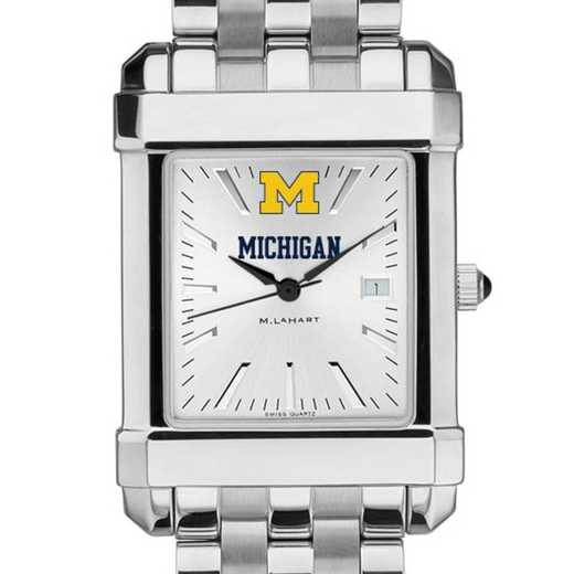 615789680314: Michigan Men's Collegiate Watch w/ Bracelet