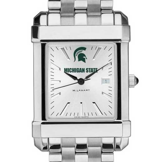 615789613558: Michigan State Men's Collegiate Watch w/ Bracelet