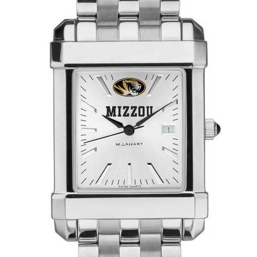 615789332220: University of Missouri Men's Collegiate Watch w/ Bracelet