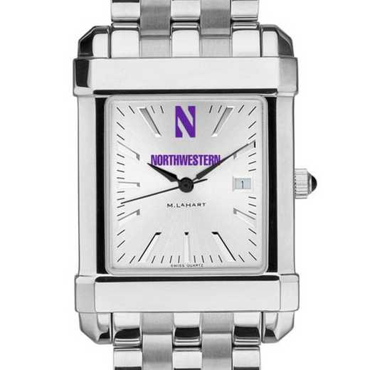 615789122845: Northwestern Men's Collegiate Watch w/ Bracelet