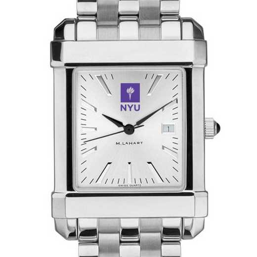 615789250173: NYU Men's Collegiate Watch w/ Bracelet