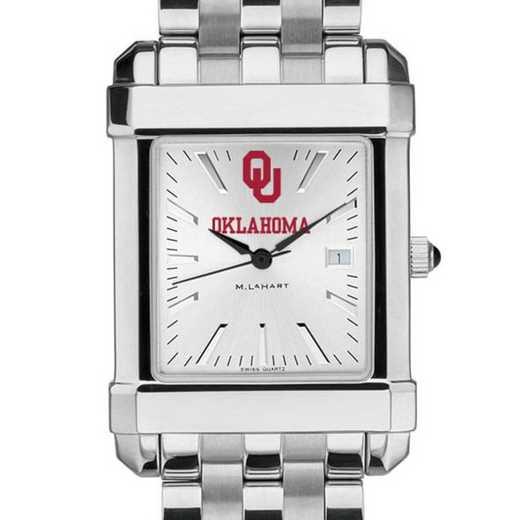 615789149088: Oklahoma Men's Collegiate Watch w/ Bracelet