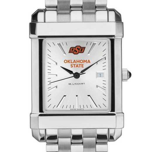615789751090: Oklahoma State University Men's Collegiate Watch w/ Bracelet