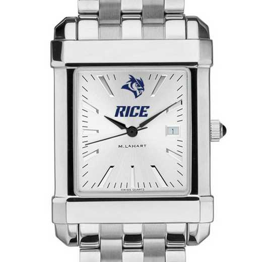 615789705512: Rice University Men's Collegiate Watch w/ Bracelet