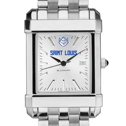 615789796855: Saint Louis University Men's Collegiate Watch w/ Bracelet