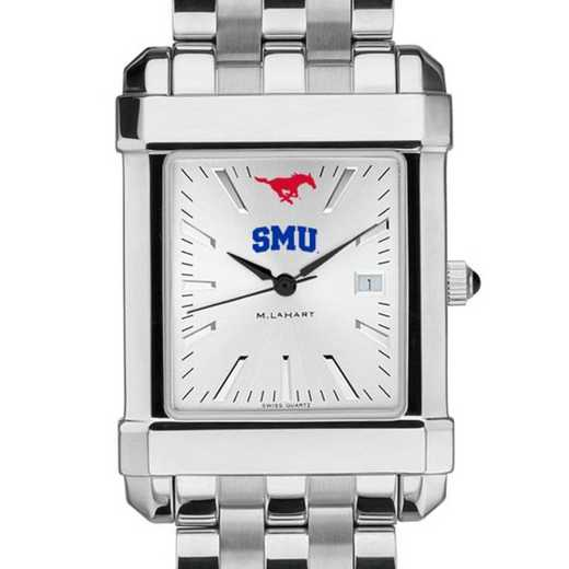 615789568148: SMU Men's Collegiate Watch w/ Bracelet