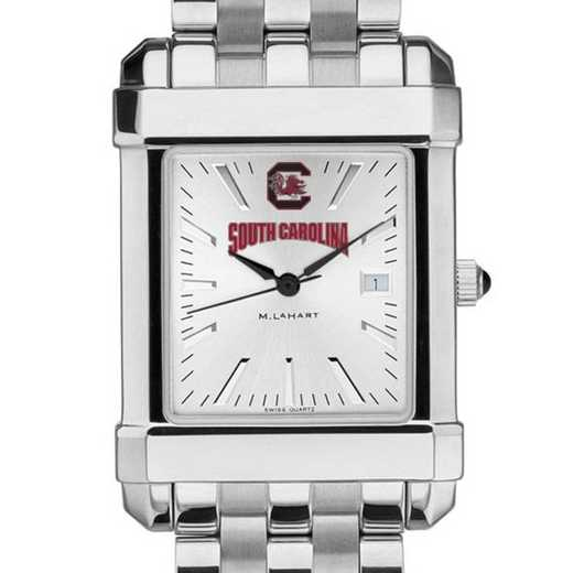 615789852391: South Carolina Men's Collegiate Watch w/ Bracelet