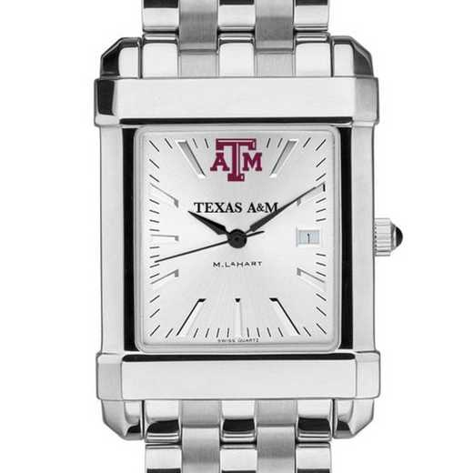 615789647256: Texas A&M Men's Collegiate Watch w/ Bracelet